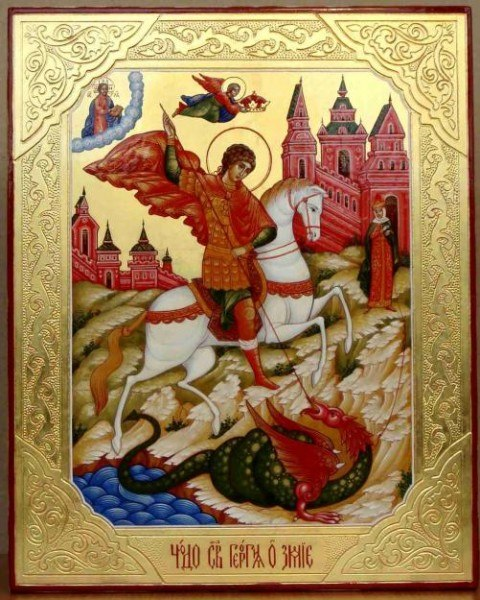 Молебен С Акафистом Иоанну Воину
